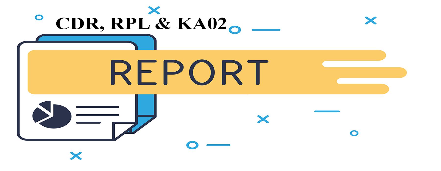 CDR RPL KA02 Report