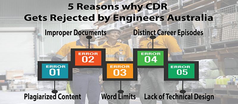CDR writing help