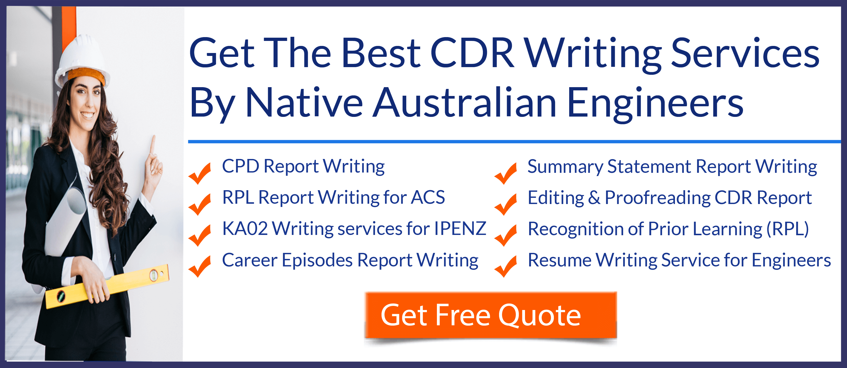 CDR Help  CDR Sample Writing Services  MY CDR Help