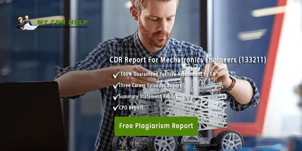 CDR Help| CDR Sample For Mechatronics Engineer| MY CDR Help