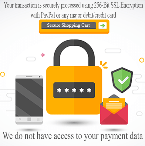 Payment Secure by MyCDRHelp